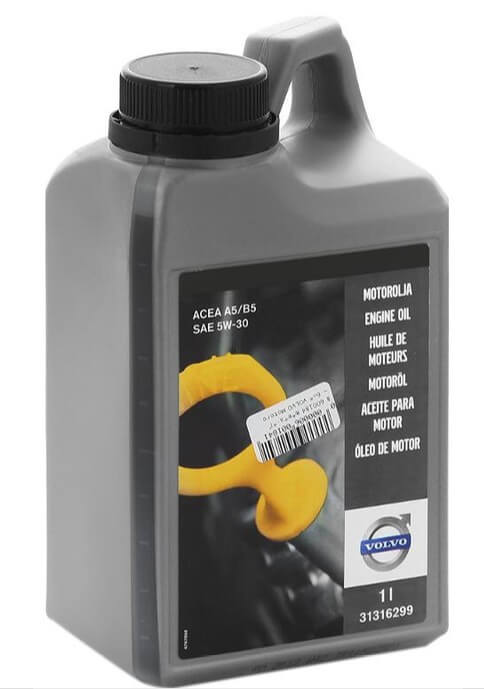 моторное масло Volvo Engine Oil 5W-30 A5/B5 1 л
