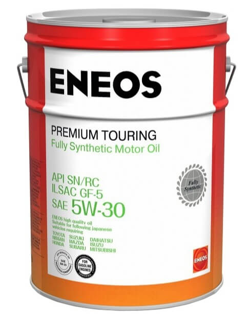 моторное масло ENEOS Premium Touring SN 5W-30, 20 л
