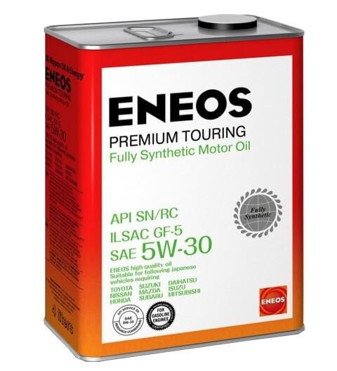 моторное масло ENEOS Premium Touring SN 5W-30 4 л