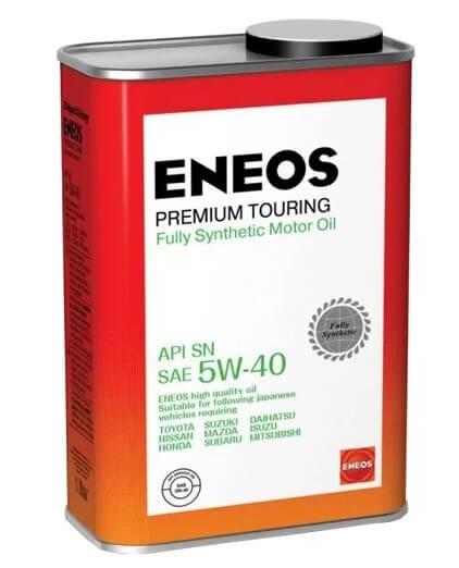 моторное масло ENEOS Premium Touring SN 5W-40, 1 л