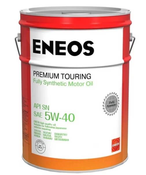 моторное масло ENEOS Premium Touring SN 5W-40, 20 л