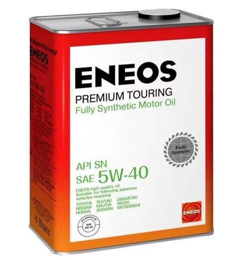 моторное масло ENEOS Premium Touring SN 5W-40, 4 л