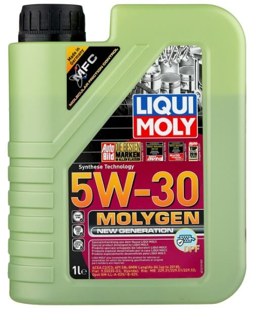 моторное масло LIQUI MOLY Molygen New Generation DPF 5W-30 1 л