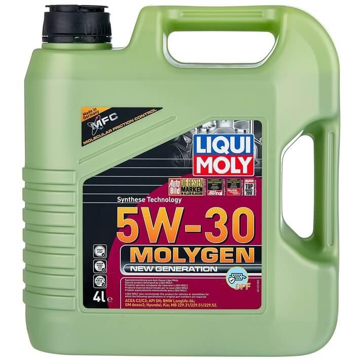 моторное масло LIQUI MOLY Molygen New Generation DPF 5W-30 4 л