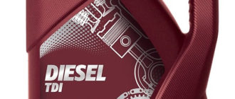 моторное масло Mannol Diesel TDI 5W-30 5 л