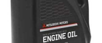 Синтетическое моторное масло Mitsubishi 5W-30 SN/CF
