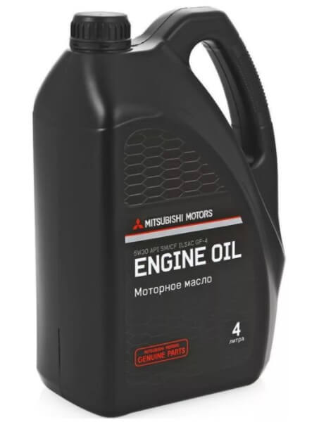 моторное масло Mitsubishi 5W-30 SN-CF, 4 л
