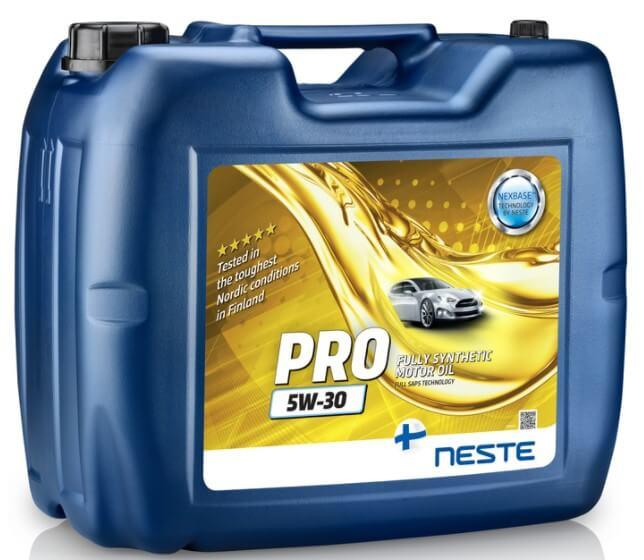 моторное масло Neste Pro 5W-30 20 л
