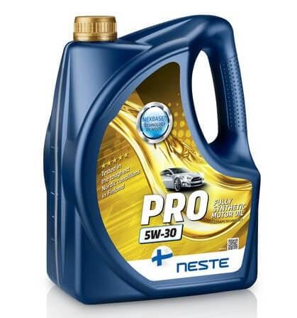 моторное масло Neste Pro 5W-30 4 л