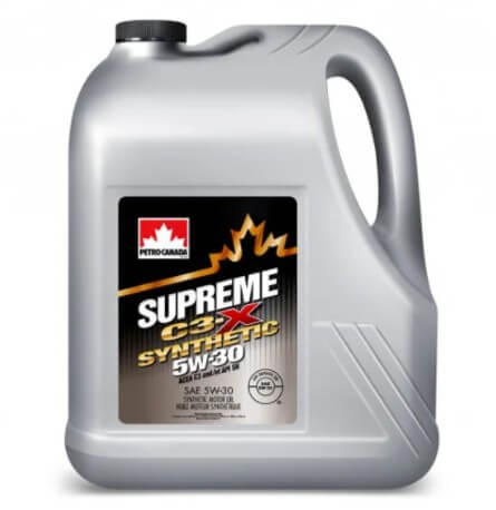 моторное масло Petro-Canada Supreme C3-X Synthetic 5W-30 4 л