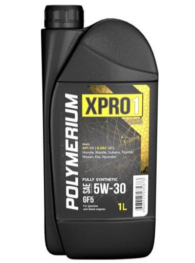 моторное масло Polymerium XPRO1 5W30 GF5 SN 1 л