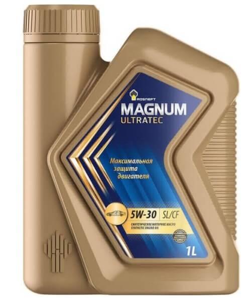 моторное масло Роснефть Magnum Ultratec 5W-30 1 л