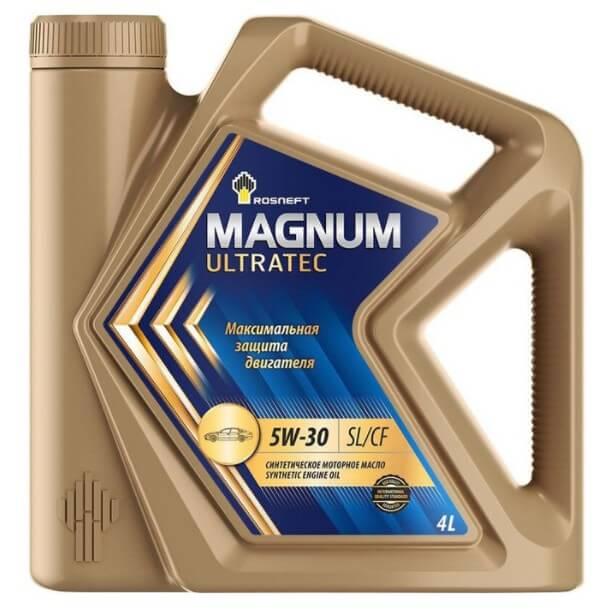 моторное масло Роснефть Magnum Ultratec 5W-30 4 л