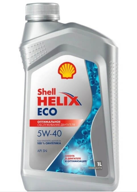 моторное масло SHELL Helix ECO 5W-40 1 л