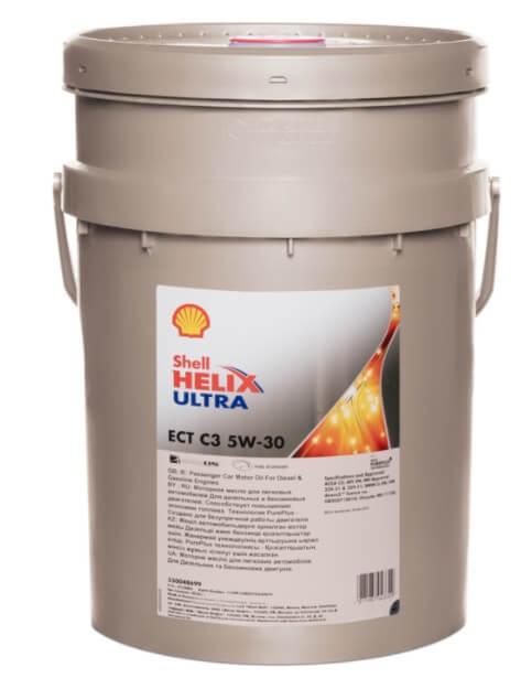 моторное масло SHELL Helix Ultra ECT C3 5W-30 20 л
