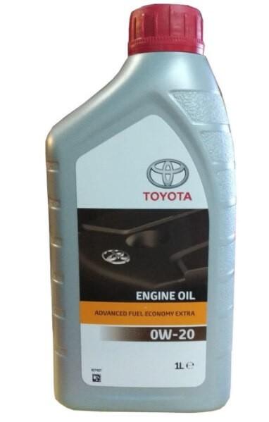 моторное масло TOYOTA Advanced Fuel Economy Extra 0W-20 1 л