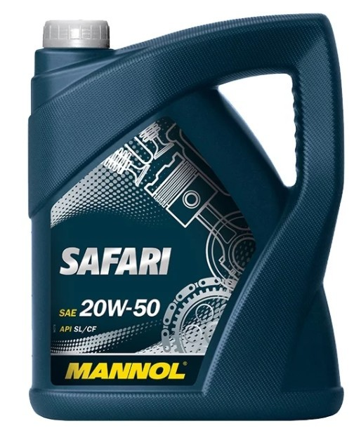 моторное масло Mannol Safari 20W-50, 5 л