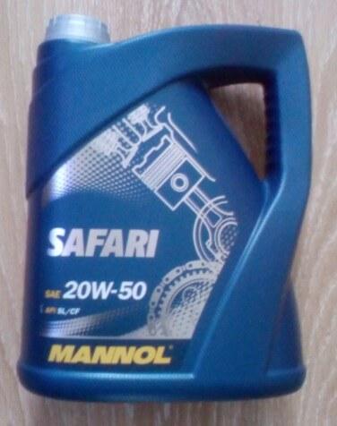 Mannol Safari 20W-50
