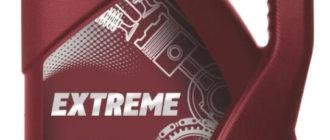 моторное масло Mannol Extreme 5W-40, 4 л