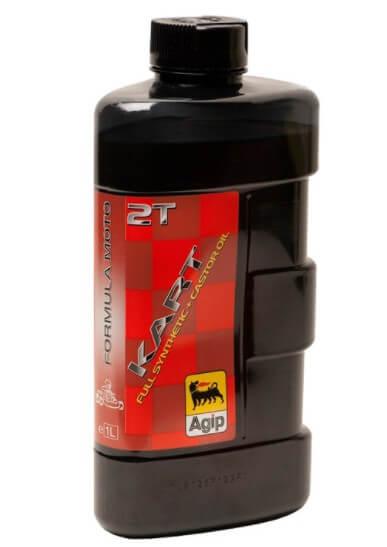 Синтетическое моторное масло EniAgip Kart 2T, 1 л