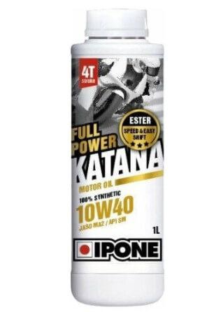 моторное масло IPONE Full Power Katana 10W40, 1 л