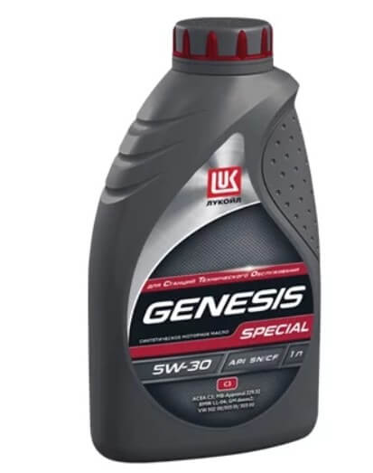 моторное масло ЛУКОЙЛ Genesis Special C3 5W-30, 1 л