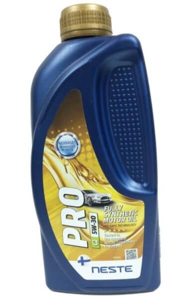 моторное масло Neste Pro C2C3 5W-30, 1 л