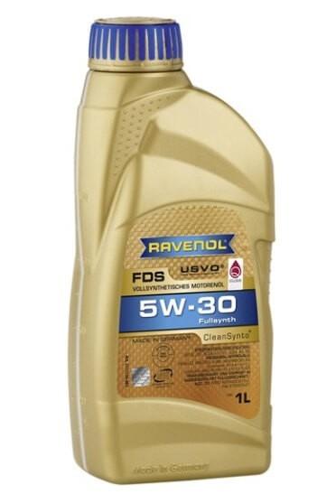 моторное масло Ravenol FDS SAE 5W-30, 1 л