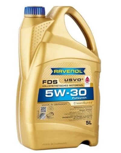 моторное масло Ravenol FDS SAE 5W-30, 5 л