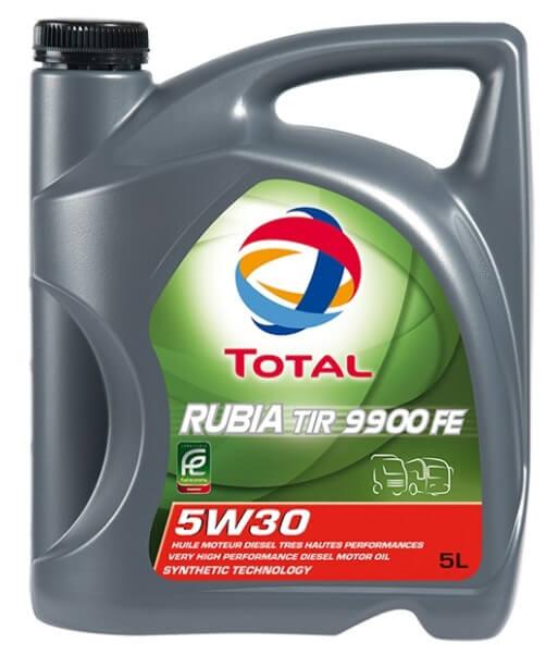моторное масло TOTAL Rubia TIR 9900 FE 5W30, 5 литров