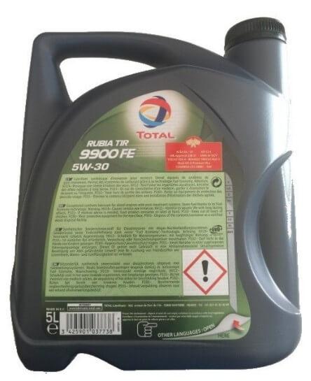 моторное масло TOTAL Rubia TIR 9900 FE 5W30
