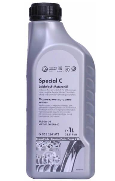 моторное масло VOLKSWAGEN Special C Leichtlauf 0W-30, 1 л