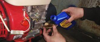 Какое масло заливать в двигатель мотоблока Лифан