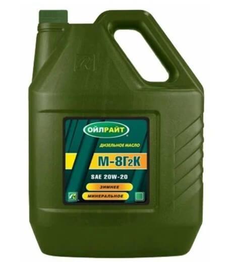 моторное масло OILRIGHT М-8Г2К, 5 л