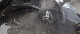 Обработать арки автомобиля от коррозии: дешево и «сердито»