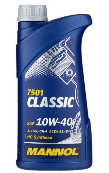 моторное масло Mannol Classic 10W-40, 1 л