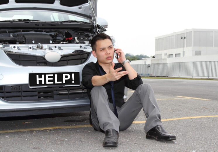 Что делать, если машина заглохла на ходу?