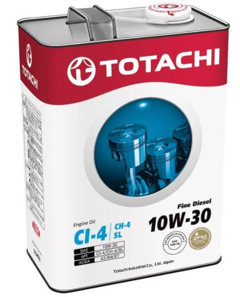 моторное масло TOTACHI Fine Diesel 10W-30, 4 л