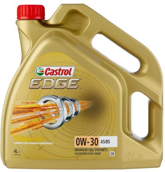 моторное масло Castrol Edge 0W-30 A5/B5, 4 л