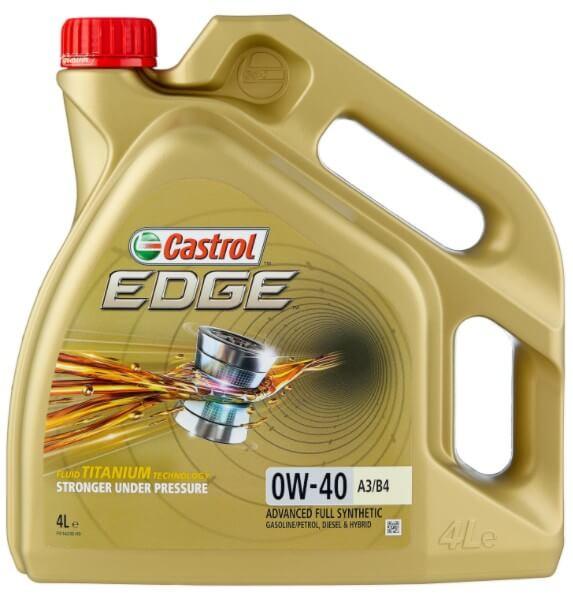 моторное масло Castrol Edge 0W-40 A3/B4, 4 л