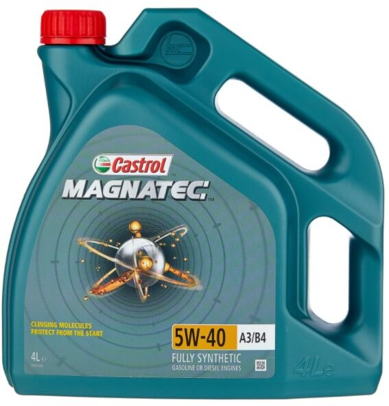 моторное масло Castrol Magnatec 5W-40 А3/В4, 4 л