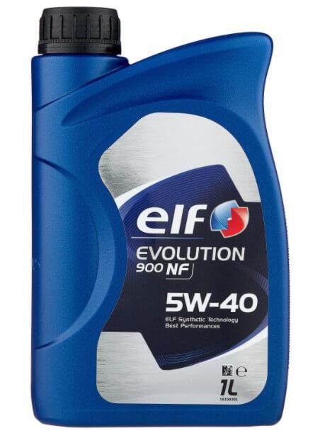 моторное масло ELF Evolution 900 NF 5W-40, 1 л