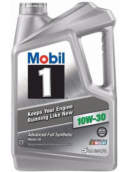 моторное масло MOBIL 1 10W-30, 4,73 л