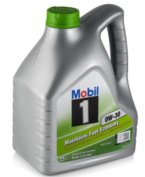 моторное масло MOBIL 1 ESP 0W-30, 4 л