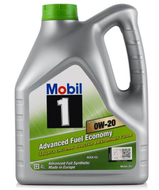 моторное масло MOBIL 1 ESP X2 0W-20, 4 л