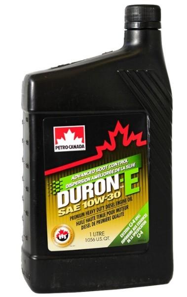 моторное масло Petro-Canada Duron-E 10W-30, 1 л