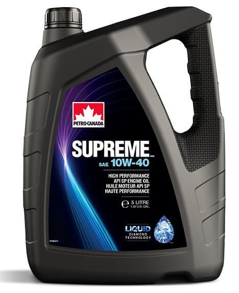 моторное масло Petro-Canada Supreme 10W-40, 5 л