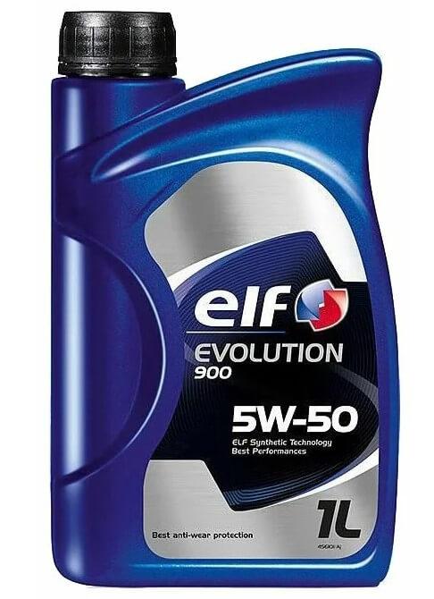 моторное масло ELF Evolution 900 5W-50, 1 л